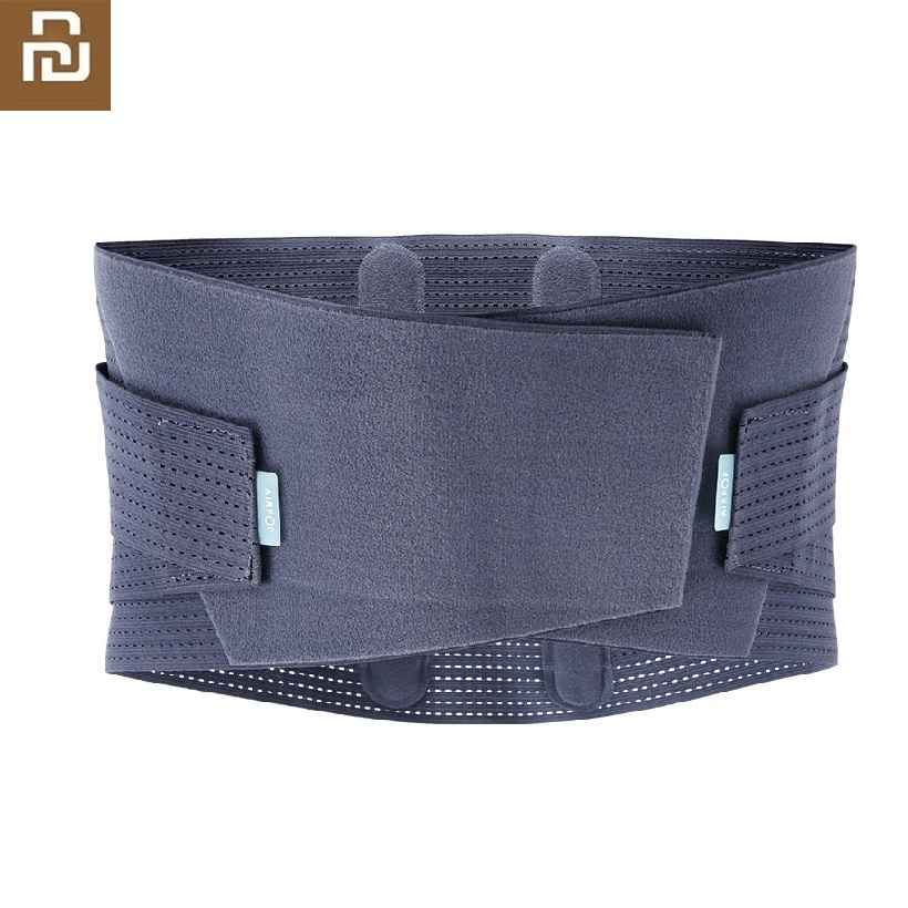 Youpin NEW Lumbar Support Waist Back  Injury Supporting Brace For Man Woman Fitness Weightlifting Belts Sports Safety Corrector