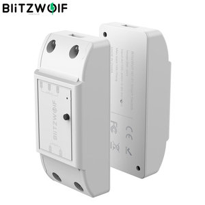 Image 1 - Blitzwolf BW SS4 básico 2200w 10a 1/2 way wifi, módulo de interruptor de casa inteligente diy, temporizador de contagem regressiva controle remoto inteligente,