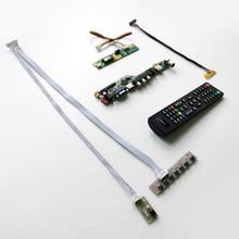Для N154C1-L01/L02/L03 T. V56 привод карты плата LVDS 1CCFL 30Pin HDMI VGA USB AV RF ЖК-панель монитор клавиатура+ пульт+ инвертор комплект
