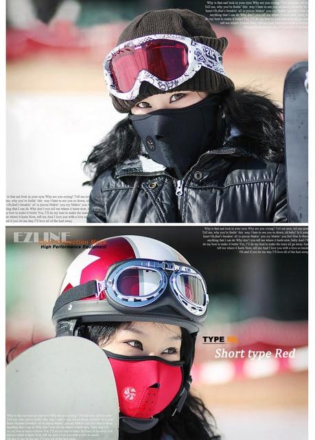 Motorcycle Face Mask Winter Windproof For suzuki gs 500 c50 boulevard bandit 650 sv1000 sv 650s burgman 400 katana gsx600f 1
