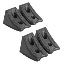 Zware Wiel Chocks voor Caravan Auto Wiel Stoppers Band Chocks 2 Pack, RV Trailer ATV Truck Tire Wheel Blokken(China)