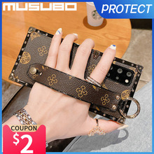 Musubo Luxury Case For Samsung S21 Ultra S20 FE S10 Plus Fashion Cover Note 20 Ultra 10 Plus Fundas A72 A71 A51 Protection Coque