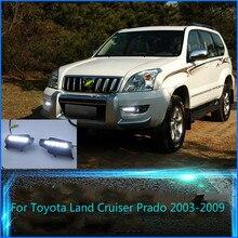 цена на Original Esuse LED DRL For Toyota Land Cruiser Prado 120 GRJ120 TRJ120 FJ120 2003~2009 Daytime Running Light Fog Lamp with E4