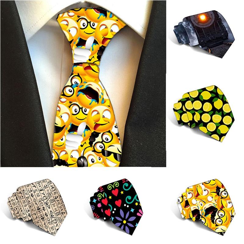 Casual Slim Men Ties 2019 Neckties Party Wedding Ties For Men 8 Cm Polyester Ties Accessories Daily Wear Wedding Part 6J-LD45
