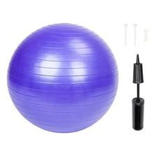 Sports Yoga Balls Bola Pilates Fitness Gym Balance Fitball Exercise Workout Massage Ball 85cm 1600g yoga ball