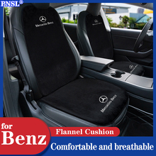 PNSL car Seat Cover Protector Front Rear Seat Backrest Cushion Pad Mat for Mercedes Benz A B C E M R S V CLA GLA class series