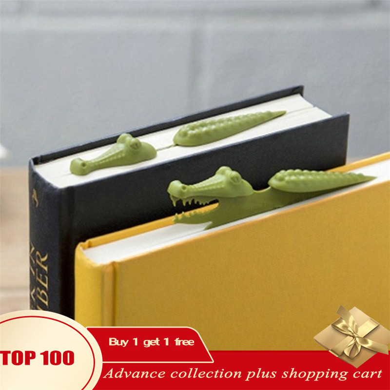 Book Mark 3d Marcapaginas Animal PVC Marcadores Marcador Pagina Funny Kawaii Stationery Accesorios Para Libros Regalo Profesora