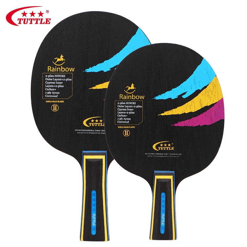 TUTTLE Professional Wood Carbon Table Tennis Racket Blade Ping Pong Racket Bat Blade  Table Tennis Blade