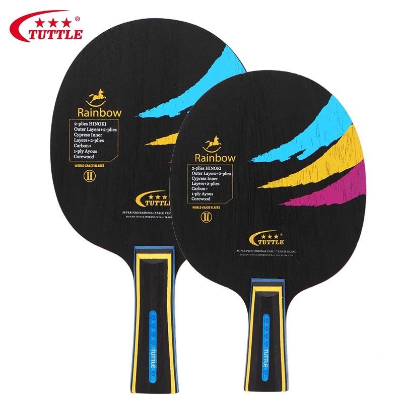 TUTTLE Professional Wood Carbon Table Tennis Racket Blade Ping Pong Racket Bat Blade  Table Tennis Blade