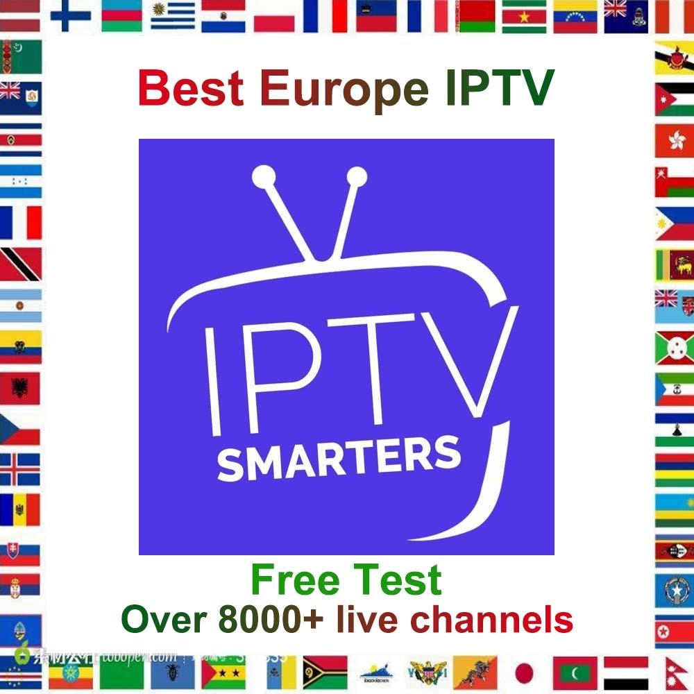 8000+ IPTV German Turkish UK Poland Romania Hungary Czech Spain 24/7 HD IPTV Support Android M3U Smart TV Series VOD