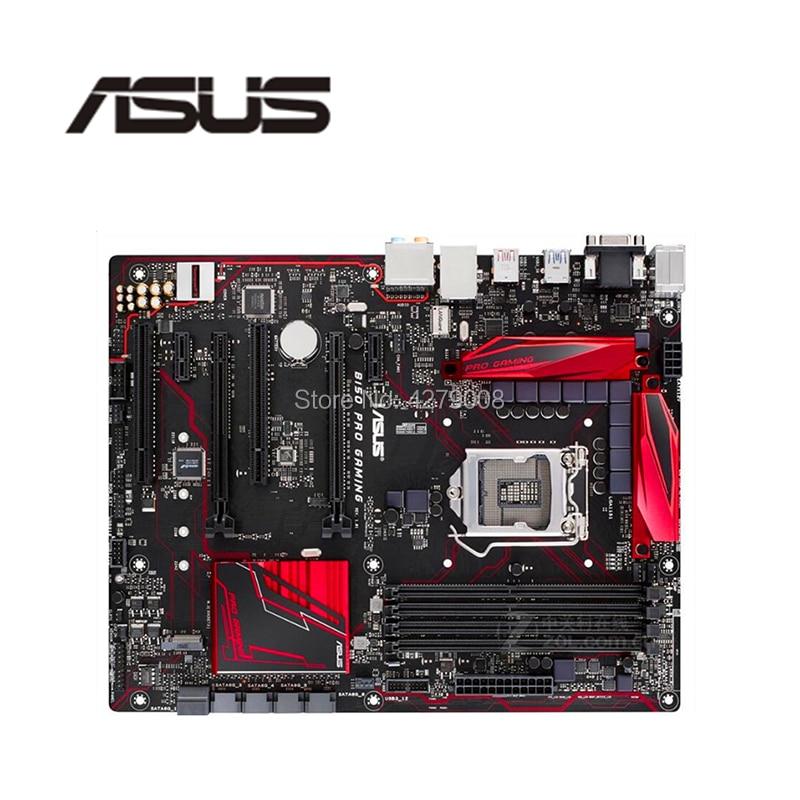 ASUS Desktop DDR4 B150 Motherboard LGA1151 GAMING SATA3.0 Intel PCI-E3.0 Used for B150/Pro/Gaming/..