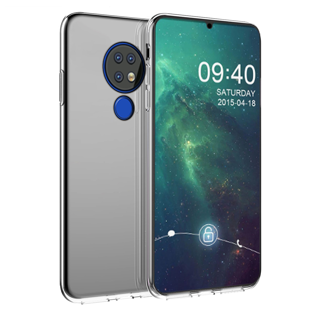 For Nokia 7.2 6.2 7.1 8.1 2.2 4.2 3.2 X7 X6 X3 X71 Case Ultra-Thin Transparent Silicone Shockproof Soft TPU Cover For Nokia 6.2