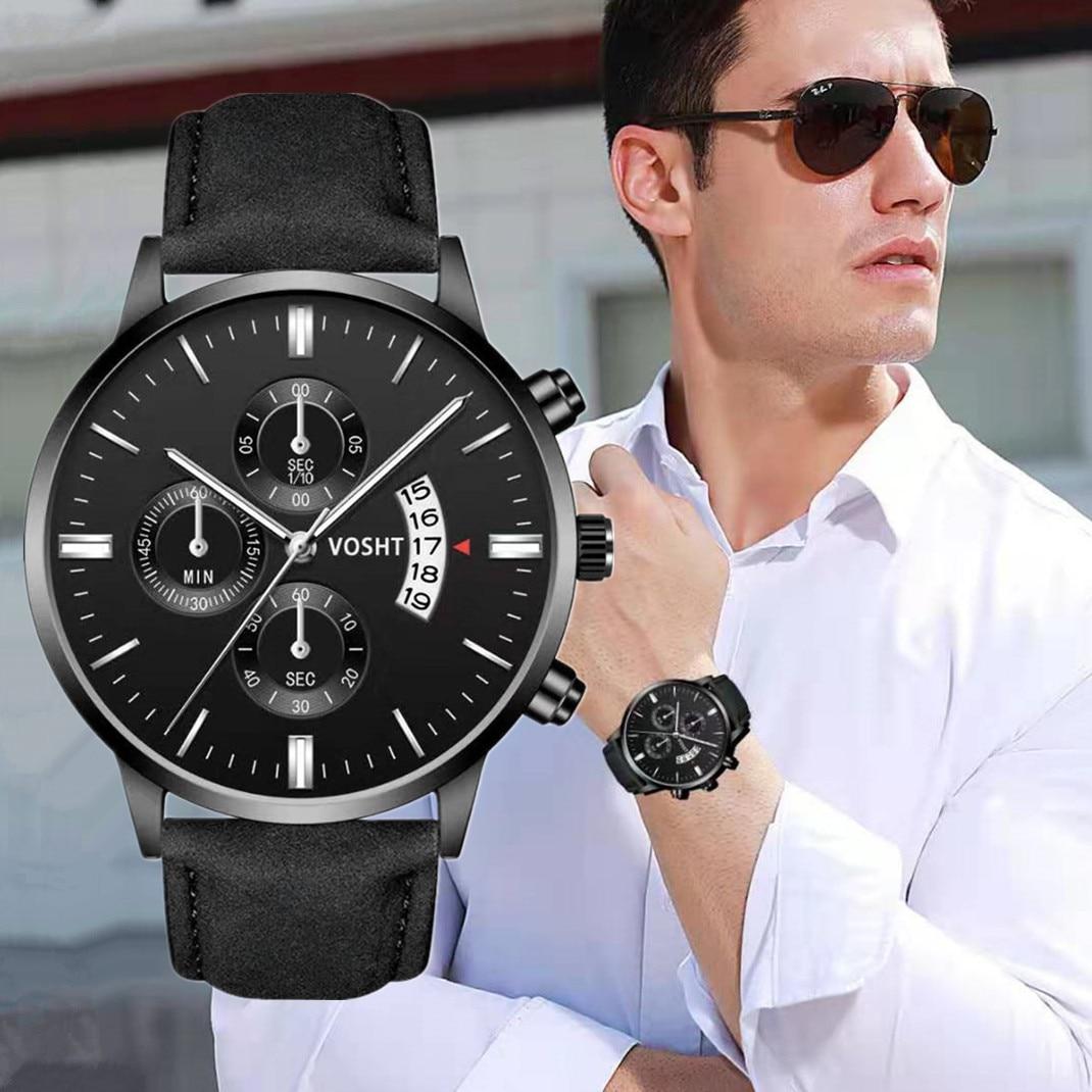 Moda Relógios Ultra Finos Para Mulheres Dos Homens Relógio Esportivo de Luxo Analógico Esporte Militar relógio de Quartzo de Couro Dos Homens Relógios Relogio masculino