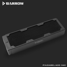 120MM Fan Cooler Radiator-Support Barrow Water-Cooling-Tool Copper 360 60mm Computer