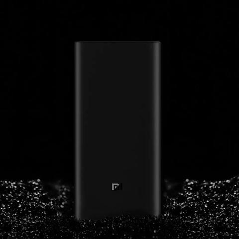 20000mAh Xiaomi Power Bank 3 Mi Power Bank 20000 mAh Pro PLM07ZM with Triple USB Output USB-C 45W Two-way Quick Charge Multan
