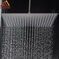 20inch Rainfall Shower Head Ultrathin Rain Shower Bathroom Shower Faucet Accessory Stainless Steel  Rain Shower Tap