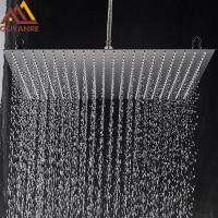 20inch Rainfall Shower Head Ultrathin Rain Shower Bathroom Shower Faucet Accessory Stainless Steel  Rain Shower Tap