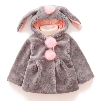 Baby Girls Jacket 2020 Autumn Winter Jacket For Girl Coat Kids Warm Outerwear Coat For Girl Clothes Children Jacket 1 2 3 4 Year winter clothes for boys kids down suits 2018 baby girl jacket clothes sets overalls warm children outerwear jumpsuit snowsuit