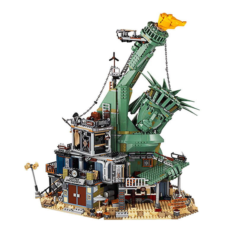 2019 Compatible with legoingery movies 2 <font><b>70840</b></font> Welcome To APOCALYPSEBURG Set Building Blocks Toys Gift for Children image