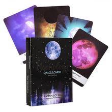 44 карты набор Moonology Oracle карты магические карты Таро вечерние настольные игровые карты с английским справочником
