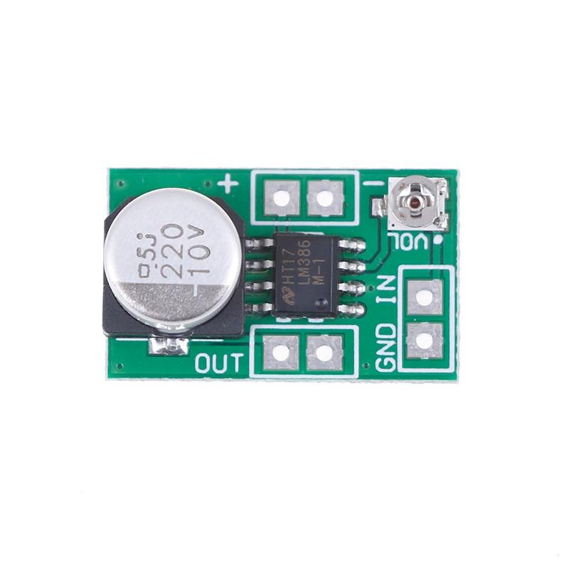 LM386 DC 5 V 12 V Micro Audio Verstärker Modul Bord Mono AMP Modul HIFI DIY