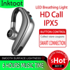 Wireless Headset Bluetooth Earphone Earbuds Auto Pairing Upgrade with IPX5 Waterproof HD Call Business Headphone for Intkoot promo