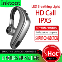 Wireless Headset Bluetooth Earphone Earbuds Auto Pairing Upgrade with IPX5 Waterproof HD Call Business Headphone for Intkoot|Bluetooth Earphones & Headphones|   -