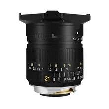 TTArtisan 21mm F1.5 caméra Lente pleine renommée objectif de mise au point manuelle pour Leica M monture caméra Leica M M M240 M3 M6 M7 M8 M9 M9p M10