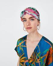 Women Headbands Floral Warm Woolen Headband Cross Elastic Hair Band Winter Turban Hair Accessories High Quality X024