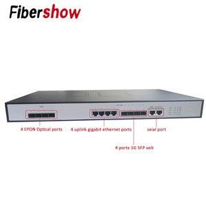 EPON OLT 4PON порты FTTH CATV OLT Высокоплотный волоконно-оптический кабель высокого качества 1,25 г Профессиональный PX20 + и EPON ONU