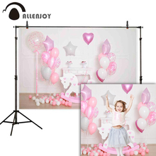 Allenjoy photo background balloons trojan birthday baby shower newborn party backdrop photozone photocall boda photography цена в Москве и Питере