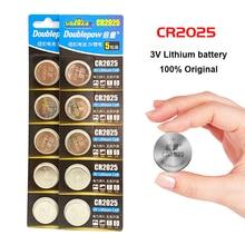 2 комплекта, 10 шт., 3 в, CR2025, батарейки для монет, батарея для часов, игрушки, калькулятор с пультом дистанционного управления, батарейка cr2025