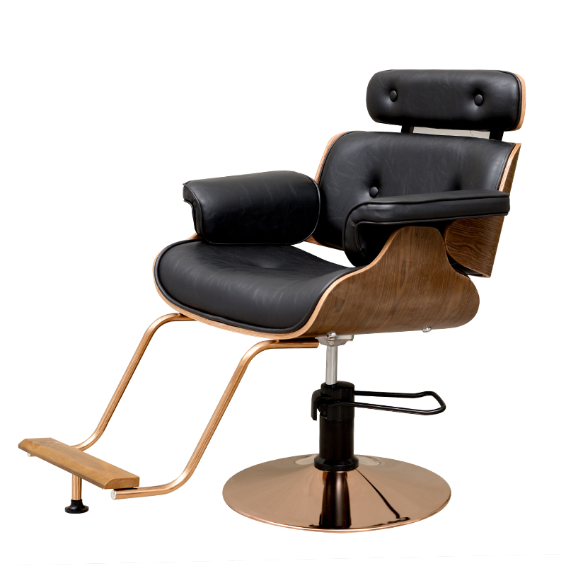 Shaking The Same Hair Salon Hair Net Red Hairdressing Chair Barber Shop Modern Haircut Chair Can Be Put Down Barber Chair