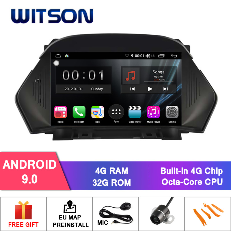 WITSON S300 Android 9.0 CAR DVD for FORD KUGA 2013-2014 8 Octa Core 4GB RAM 32GB flash GPS+GLONASS+WIFI/4G+DSP+DAB+OBD+TPMS