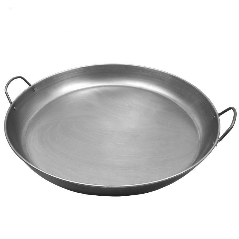 Binaural Pan Household Pancake Pan Flat Batter Dice Stand Pancake Fruit Tool Nonstick Pan Hand Cake Pan Pans Hotpot Non Stick