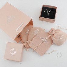 Drop Shipping Earrings Ring Necklace Jewelry Gift Box Velvet Bag Gift Bag,Only For Buy Other Items Don't Sell Individually