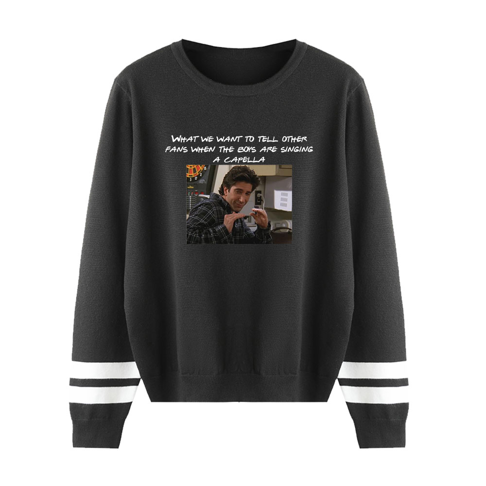 Friends Sweater Men/women Casual Knitting Sweater Fall/Winter Simplicity Female Pullovers Classic Sitcom Sweater Unisex Sweater