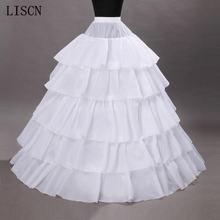 Лидер продаж 4 обруча свадебные Подъюбники для бального платья