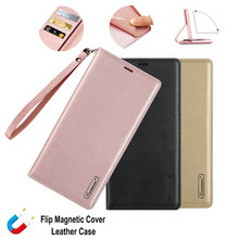 A5 2017 A520F Luxe Hanman Portemonnee Real Leather Case Voor Samsung Galaxy A10 A20 A30 A40 A50 A30s A50s A60 a70 A80 A90 Flip Cover