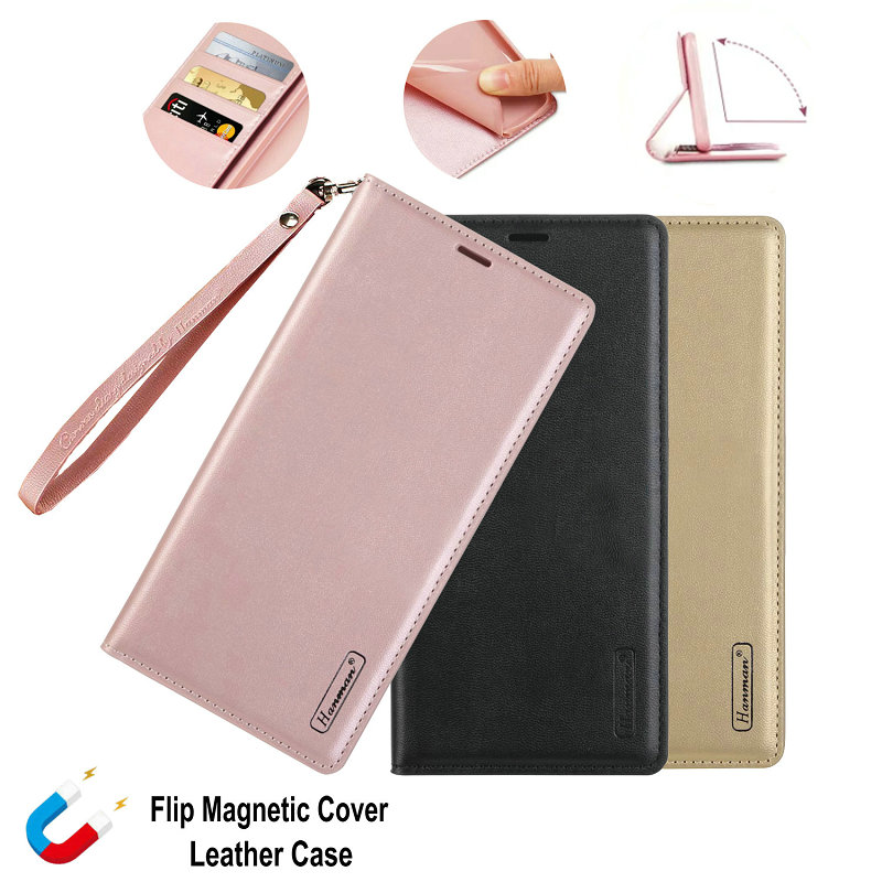 A5 2017 A520F Luxury Hanman Wallet Real Leather <font><b>Case</b></font> for <font><b>Samsung</b></font> Galaxy A10 A20 <font><b>A30</b></font> A40 A50 A30s A50s A60 A70 A80 A90 <font><b>Flip</b></font> Cover image