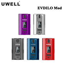 New Original Uwell EVDILO Box MOD 200W Electronic Cigarette Vape fit Valyrian 2 Tank Powered by dual 18650/20700/21700 Battery