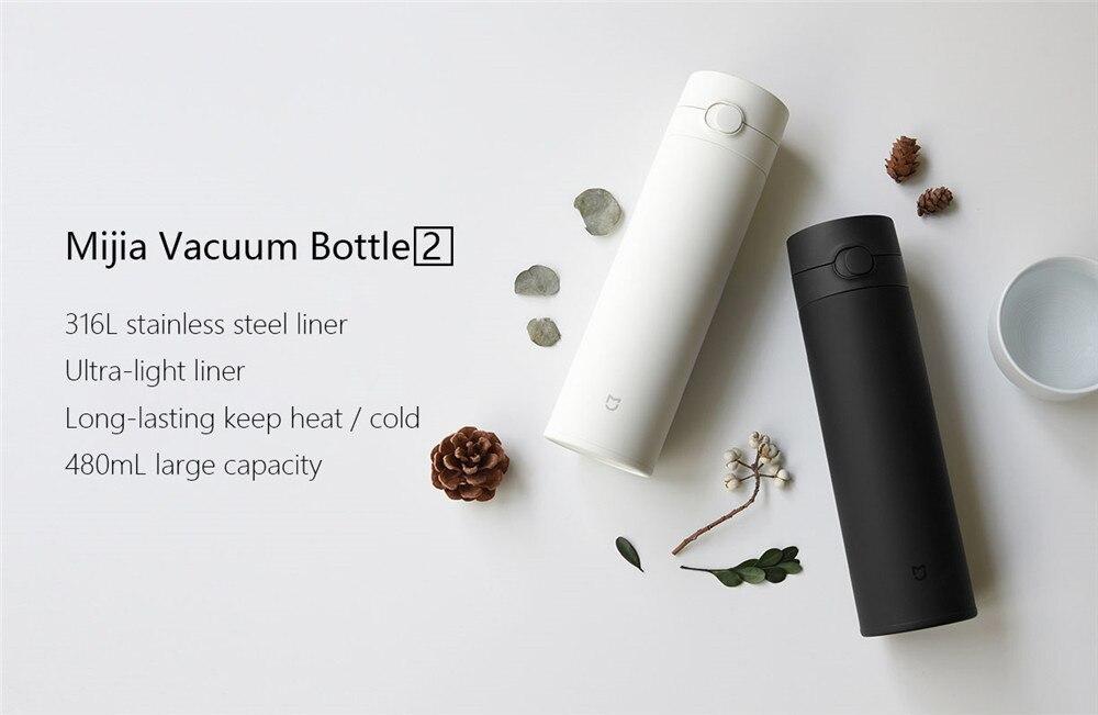 XIAOMI Mijia 480ML Vacuum Thermos Bottle 5
