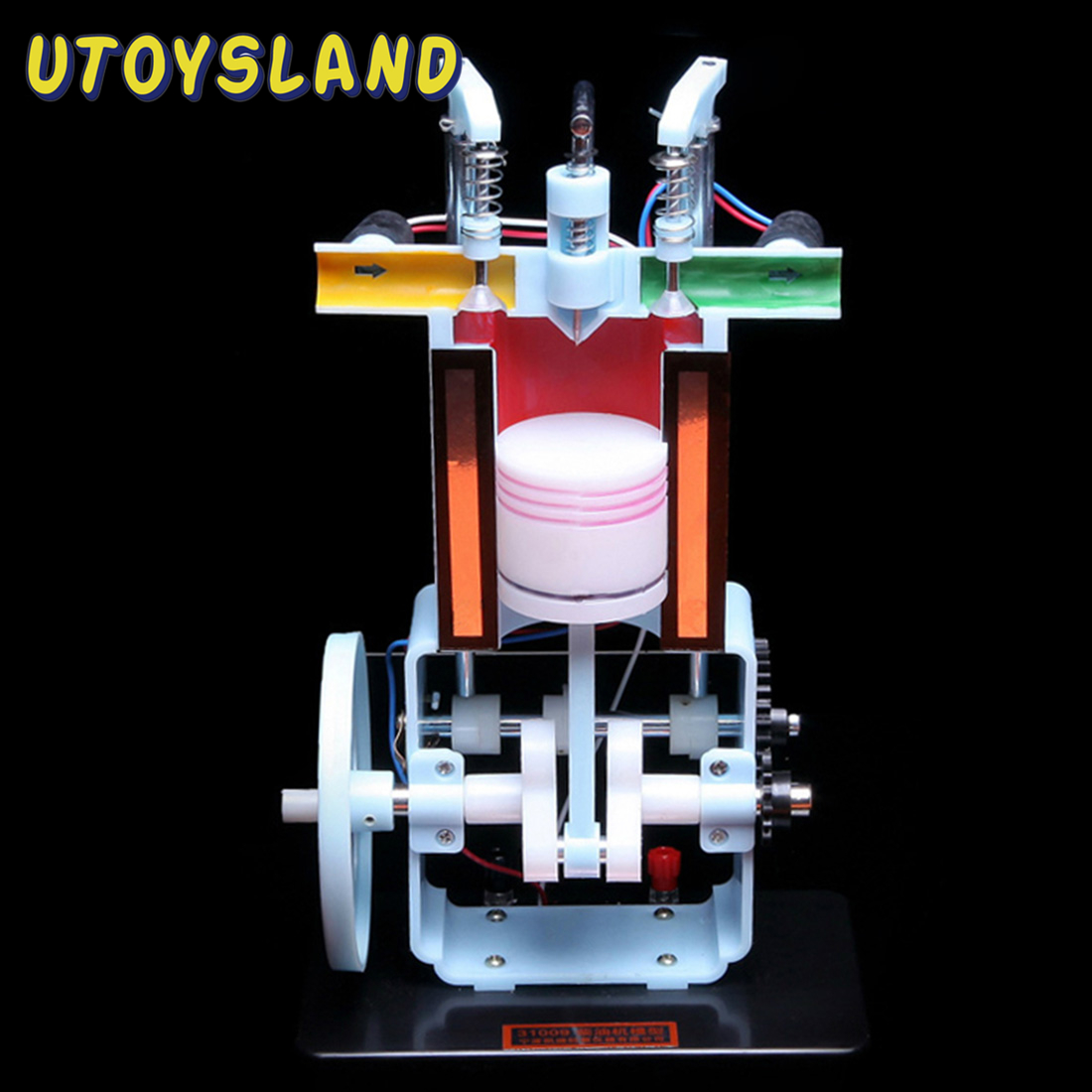 Hot Sale Diesel Engine Model Internal Combustion Engine Experimental Apparatus For Physics Education Early Learning Toy For Kids