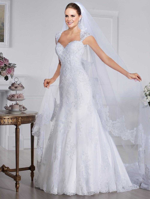 Custom Vestido De Noiva Renda Vintage Sweetheart Applique Lace 2018 Fashion Casamento Bridal Gown Mother Of The Bride Dresses