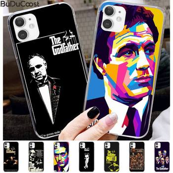Benz The Godfather Don Corleone Hard Phone Case for iPhone 11 pro XS MAX 8 7 6 6S Plus X 5 5S SE XR case image