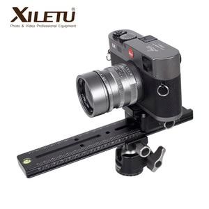 Image 4 - Xiletu LCB 24B カメラトラックドリースライダーフォレールスライダー & クランプと qr プレート満たすアルカスイス一眼レフカメラ用キヤノン