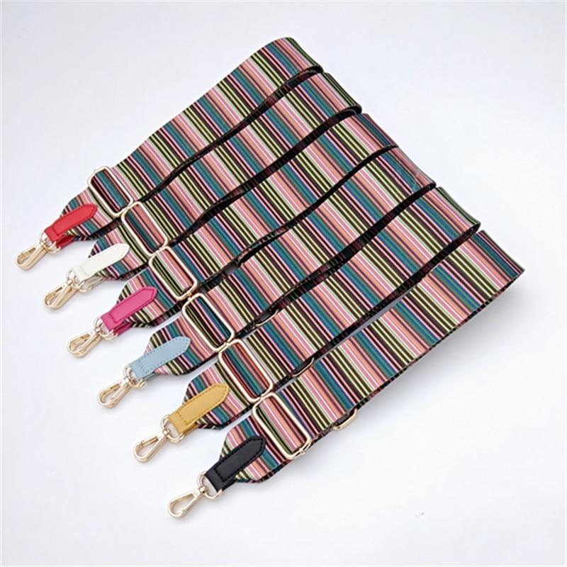 Women Shoulder Bag Strap For Crossbody Adjustable Canvas Handles Belt Bag Accessories Handbag Wide Strap For Bag Parts Obag