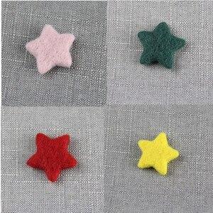 5 шт. реквизит для фотосъемки новорожденных шерстяные войлочные звезды для детской фотосъемки аксессуары для детской фотосъемки реквизит для фотосъемки