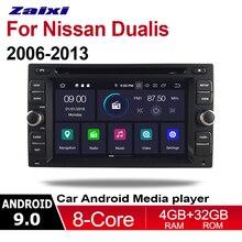 цена на Zaixi For Nissan Dualis 2006 2007 2008 2013 Android Car Radio CD DVD Player GPS Navi Navigation Maps Camera TV HD screen Media