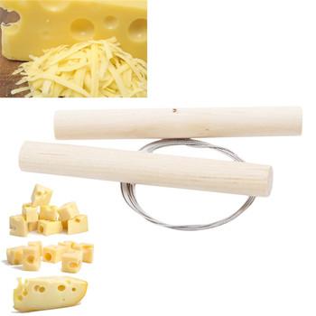 Drewniany móż drut urządzenie do cięcia mydła narzędzie do cięcia sera drewniany móż do świec glinianych ceramika przełącz uchwyty skręcone narzędzia do modelowania tanie i dobre opinie CN (pochodzenie) DT792198 wood Ceramic sculpture cutting tool